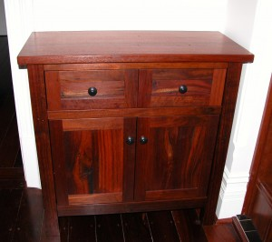 Recycled Jarrah Hall Cabinet