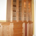 American Red Cherry bookcase