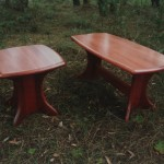 Jarrah coffee tables