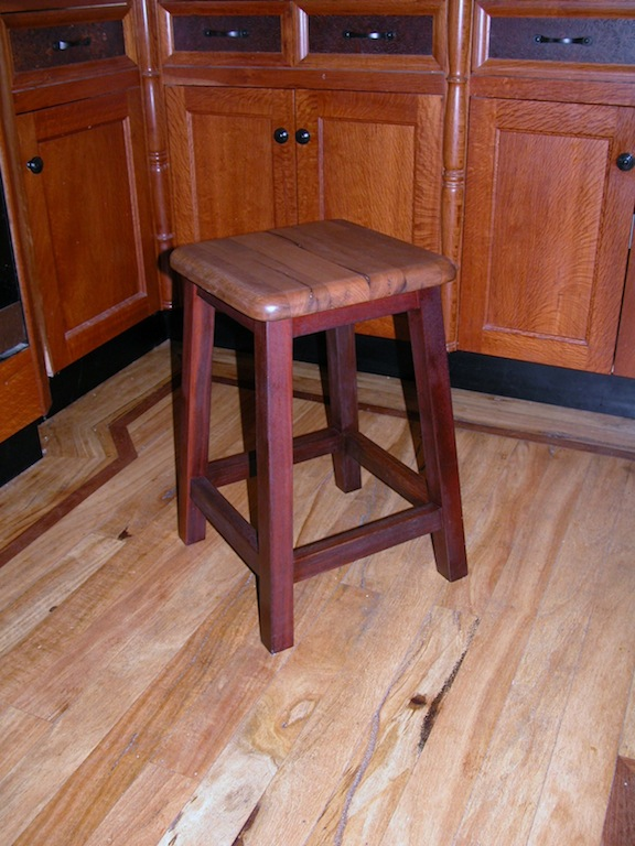 Custom Furniture Perth Tables amp Chairs PQUE Timber Craft : Jarrah Marri Stool from www.pque.com.au size 576 x 768 jpeg 146kB