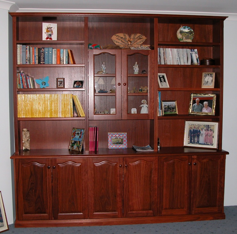 Custom Furniture Perth | Bookcases and built-in | PQUE Timber Craft