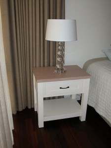Painted Bedroom BedSide Table