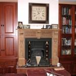 Jarrah bookcase & TV unit