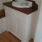 Cottage style painted vanity