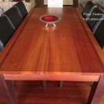 Sheoak and Jarrah dining table