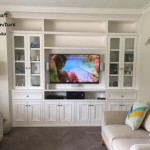 Hampton painted white TV & display unit
