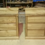 White Gum Bedside Tables